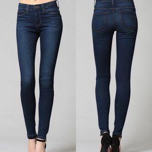 Flying Monkey Mid Rise Super Soft Skinny Jeans